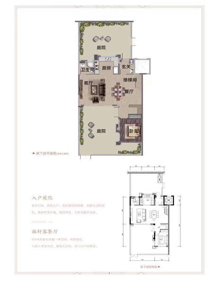 南岸区茶园新区保利堂悦新房A1户型图