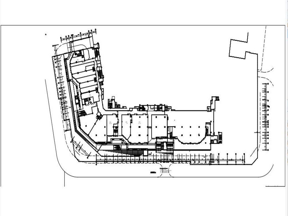 九龙坡区盘龙方兴金茂悦新房10号楼商铺吊二层平面图户型图