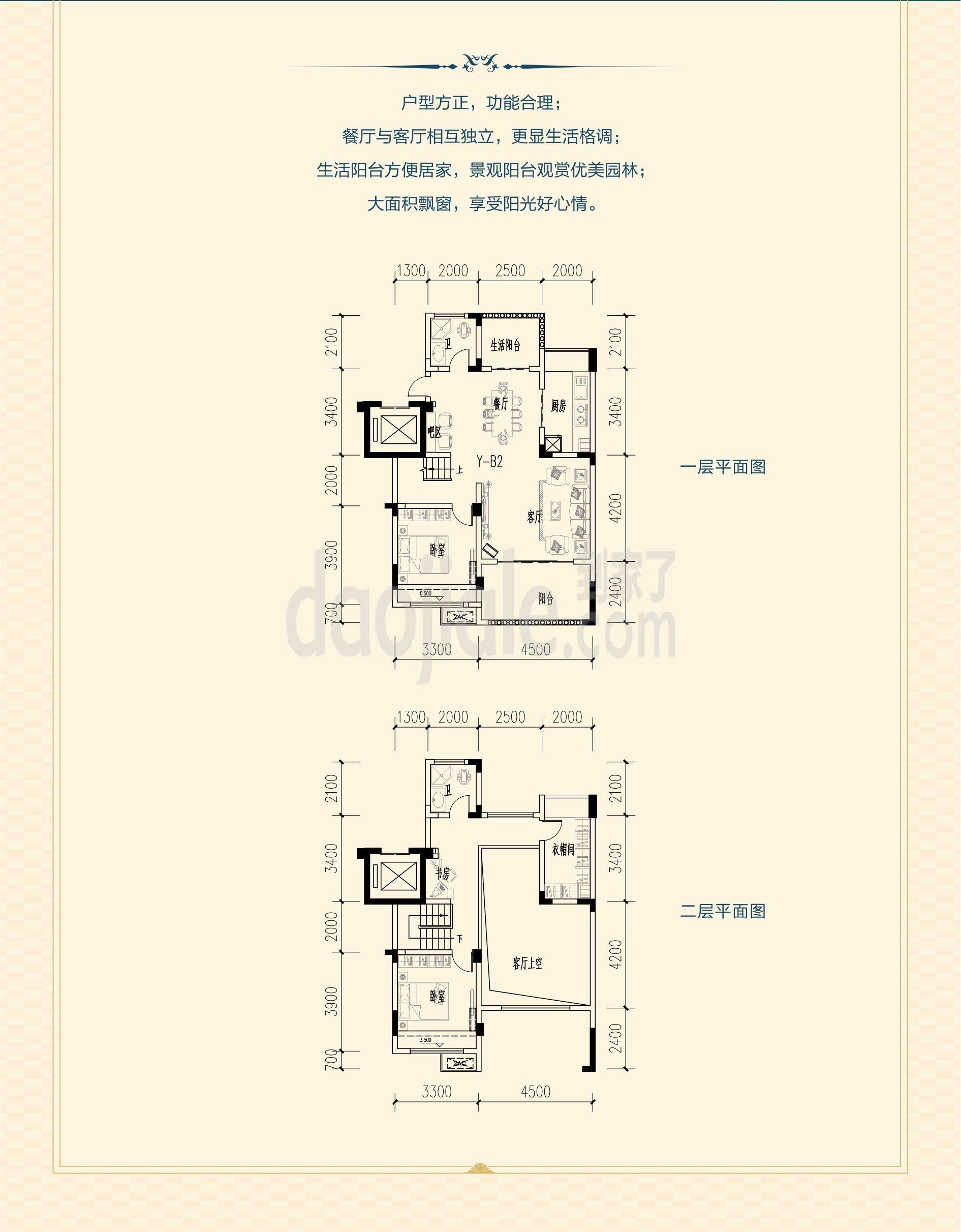 江津区东部新城祥豪维多利亚港湾新房洋房户型图