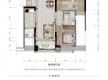 渝北区加州新牌坊恒大天玺新房301号房户型图