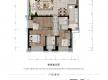 渝北区加州新牌坊恒大天玺新房302号房户型图