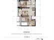 渝北区加州新牌坊恒大天玺新房303号房户型图