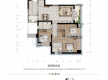 渝北区加州新牌坊恒大天玺新房308号房户型图