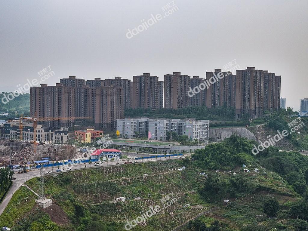 大渡口区钓鱼嘴半岛绿地城小区实景图-5