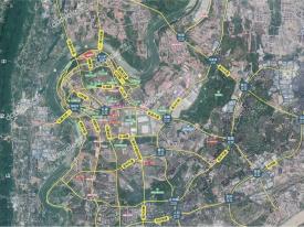 渝北区礼嘉金融街嘉粼融府新房交通图-1