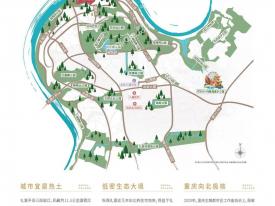 渝北区礼嘉金融街嘉粼融府新房交通图-2