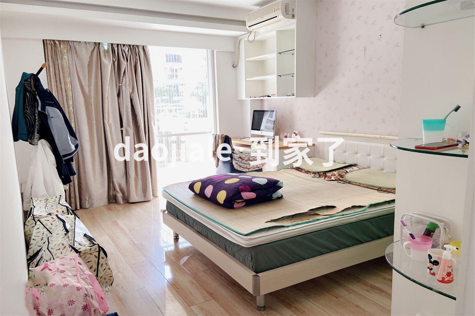 斗门茶园 罗马假日花园四房570万二手房卧室图